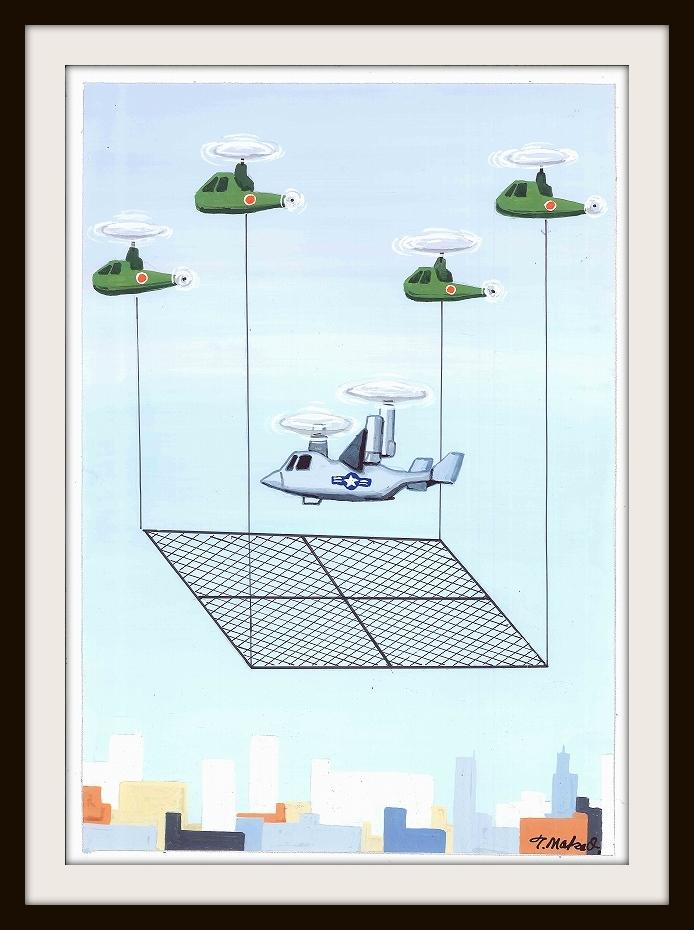 合同低空飛行訓練